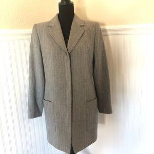 Wool Coat by Linda Allard Ellen Tracy, Size 10